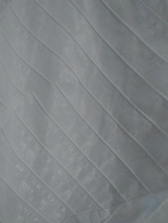Chemise / surchemise blanche bouton pression blanc t. 40 42 44 manches 3 / 4