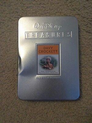 Walt Disney Treasures:DAVY CROCKETT-The Complete Series (DVD, 2-Disc Set) in Tin