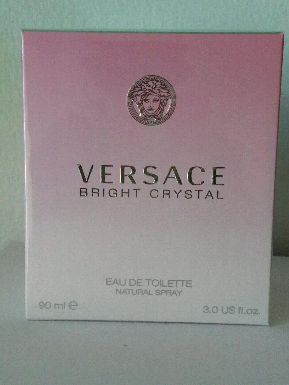 $37.50 - Versace Bright Crystal 3.04oz  Women's Eau de Toilette in sealed box