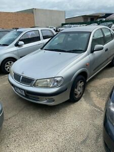 2003 Nissan Pulsar N16 ST Silver 4 Speed Automatic Sedan Hoppers Crossing Wyndham Area Preview