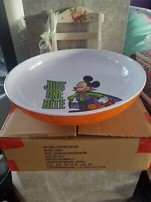 Original Disney Paris schöner großer Halloween  Micky Maus Schale  Neu OVP  (Disney Paris Halloween)