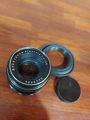 Used Condition Pentacon Electric 50mm F/1.8 lens !