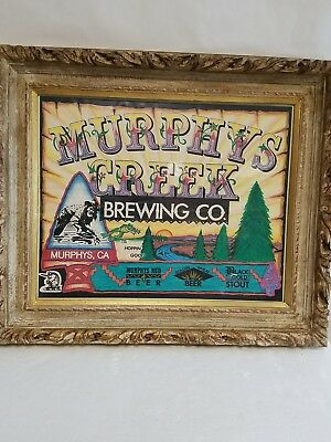 MURPHYS CREED BREWING CO. FRAMED POSTER