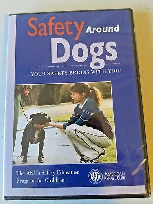 Safety Around Dogs DVD VIDEO MOVIE AKC education program for children greeting