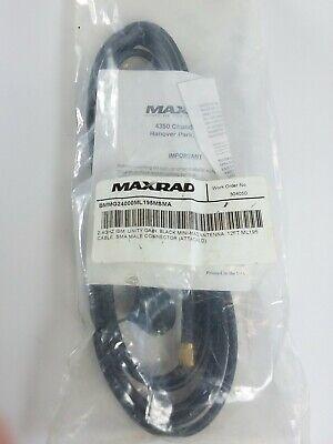 Maxrad Bmmg24000ml195msma Maxrad - 2.4 Ghz Black Mini-mag Antenna 12 Ft.