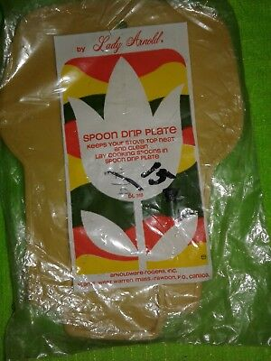 Vintage Spoon Rest 1960s 1970s Plastic Spoon Lady Arnold Nip