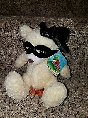 Mouse in the House Toys Stuffed MITH Productions Inc Witch Halloween bear plush