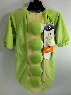 Halloween Costume Funny Photo Novelty Dress-up Peapod Infant Size 0-6m GJ - Funny Halloween Costumes Photos