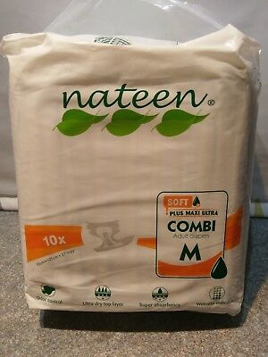 Nateen Plus Maxi Ultra Combi  Unisex Adult (Combi Diapers)