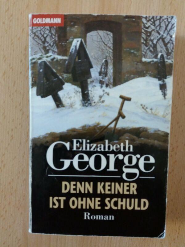 ELIZABETH GEORGE.DENN KEINER IST OHNE SCHULD