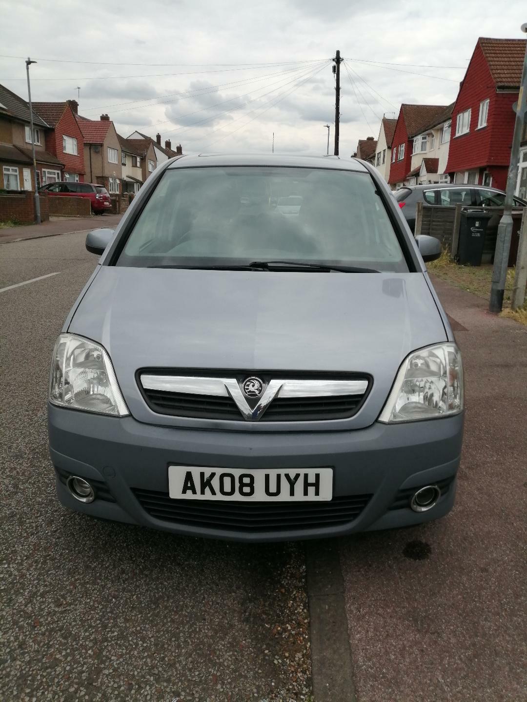 Vauxhall-Meriva-2008-16-Design-Silver-Petrol-Manual-12-MONTHS-MOT-no-advisories