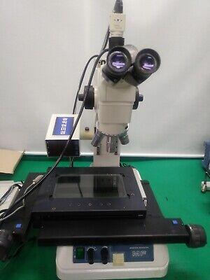 Mitutoyo Mf Microscope Measuring