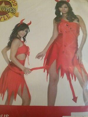 NEW~Devilicious Adult Womens Devil Halloween Costume Sz M/L. - Devilicious Halloween Costume