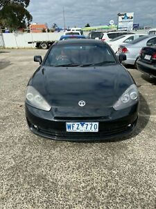 2008 Hyundai Tiburon MY07 V6 Black 4 Speed Auto Selectronic Coupe Campbellfield Hume Area Preview