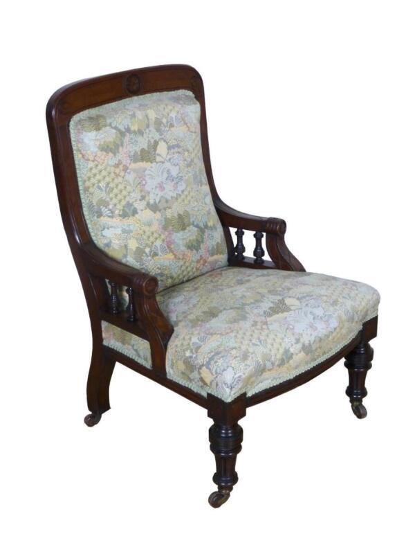 antique nursing chair ebay. Black Bedroom Furniture Sets. Home Design Ideas