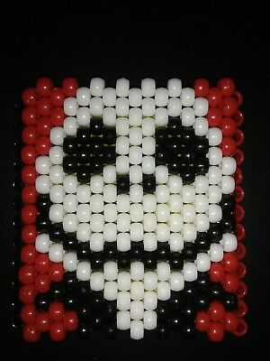 Nightmare Before Christmas Jack Skellington Kandi cuff beaded bracelet Halloween](Halloween Kandi Bracelets)