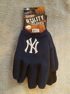 NEW YORK NY YANKEES TEAM WORK SPORT UTILITY GLOVES - BRAND NEW - ADULT SIZE