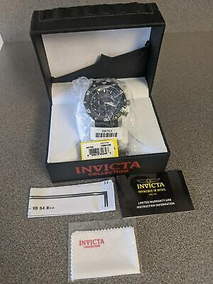 Invicta 28753 Pro Diver Chronograph Stainless Steel Men's Watch w/ Silicone Ban