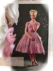 c2fcf655303 Ladies Dress Knitting Pattern | eBay