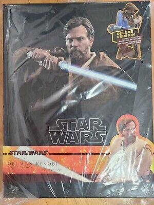 Hot Toys MMS478 1/6 Star Wars ep3 Obi Wan Kenobi Action Figure Deluxe Ver.