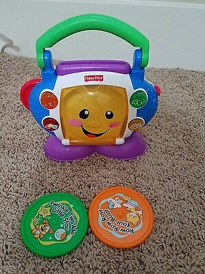 Fisher Price Laugh and Learn Sing with Me CD Player Baby Musical Toy