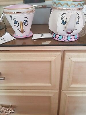 Disney Chip and Mrs Potts purse