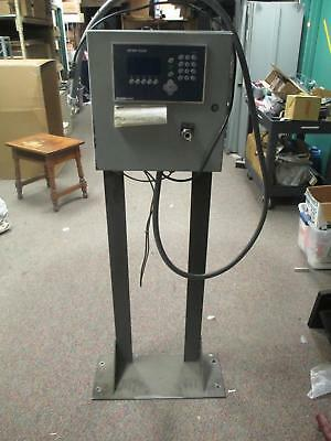 Mettler Toledo Ind560 Weighing Platform Scale Terminal Panel Enclosure Stand