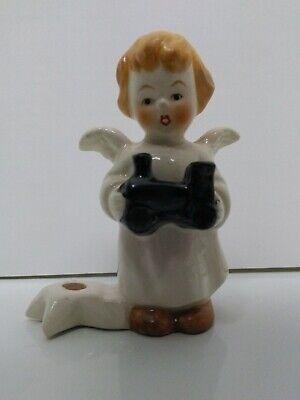 Angel Holding Star Figurine - Goebel Figurine Angel Holding Train Star Candle Holder Mini 3