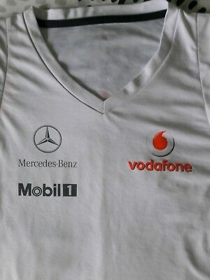 Lewis Hamilton authentic McLaren Mercedes Benz shirt