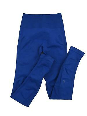 Lululemon Women's Zone In Tight Pants Size 6 Sapphire Blue High Rise Compression