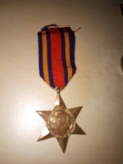 WW2 Australian Burma star medal (Unnamed)