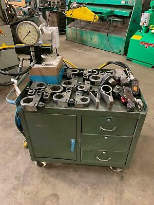 Hytorc Hydraulic Torque Wrench Set Loaded With Tooling 13 Cassettes 2 Wrenches