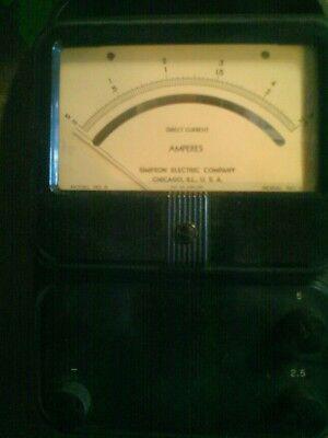 Simpson Dc Amp Meter
