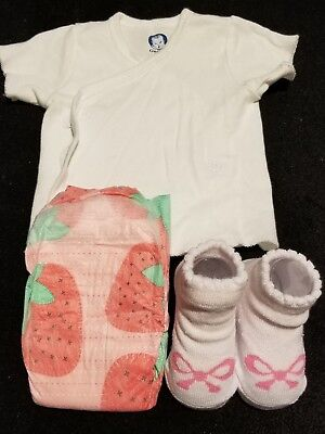 """Reborn baby accessories """"It's a Girl"""""""