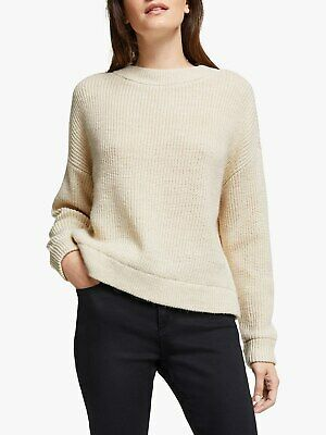 AWARE BY VERO MODA @ John Lewis Birch Chunky Jumper - Size: Large