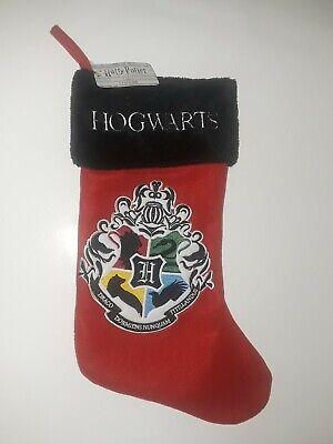"""Harry Potter Hogwarts Crest 20"""" Christmas Stocking NWT"""