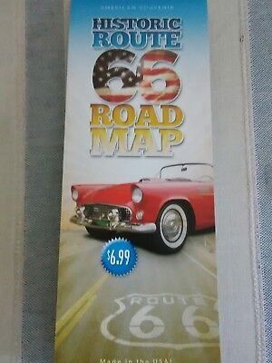 HISTORIC ROUTE 66 TRAVEL ROAD MAP CHICAGO TO LA 93rd 2019 EDITION! BEST (Best Route 66 Guide)