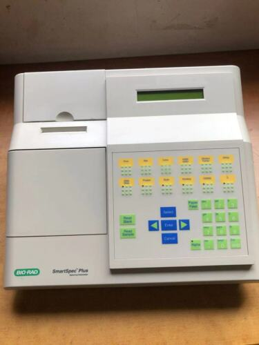 BioRad SmartSpec Plus UV/vis Spectrophotometer  200–800 nm DNA RNA
