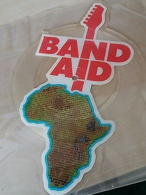 """band aid 7"""" picture disc"""