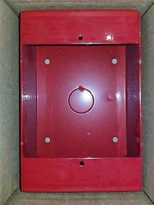 Potter P32-BB Red Indoor Surface Mount Back Box... New