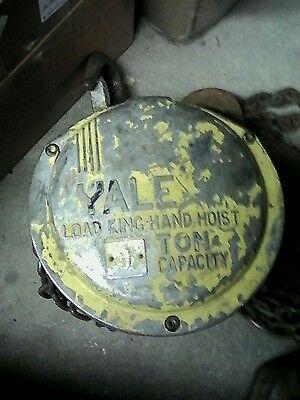 Yale 1ton Load King Hand Chain Hoist Heavy Duty A Frame Jib Crane
