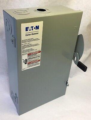 Eaton Cutler-hammer General Duty Safety Switch Dg222ngb - 240vac 2-pole 60a B6