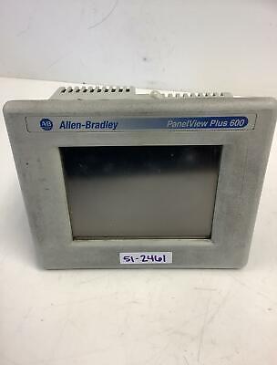 Allen Bradley Panelview Plus 600 2711p-t6c20a Series A