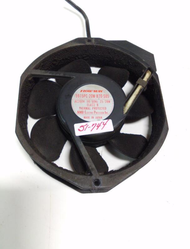 NMB FLOWMAX FAN 5915PC-20W-B20-S05