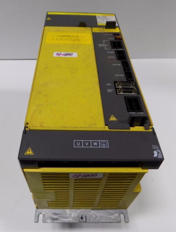 Fanuc Aisv 180hv Servo Amplifier A06b-6124-h106