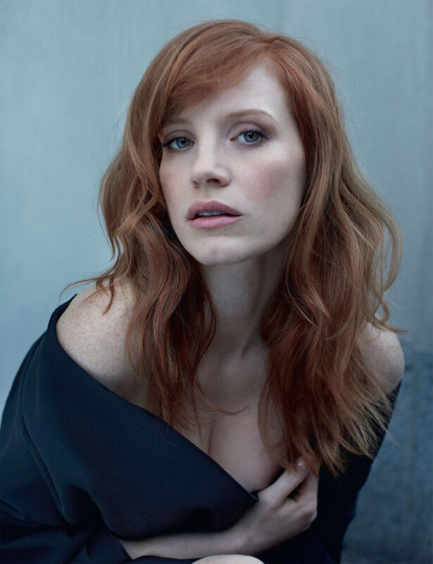 Jessica Chastain Red Hair 8x10 Photo Print