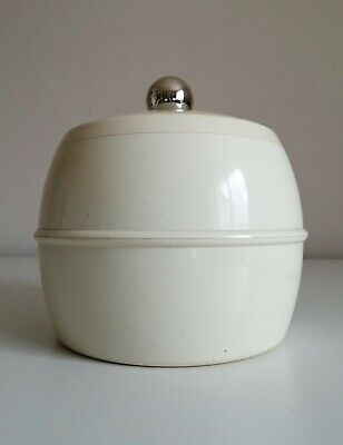 A Very Cool, Stylish & Vintage Insulex Limited Cream Coloured Ice Bucket & Lid