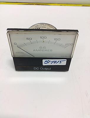 Hoyt Panel Meter Dc Amperes 3135 0-200