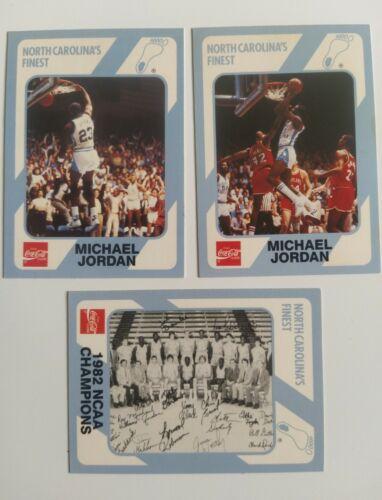 Michael Jordan Collegiate Collection North Carolina Coca Cola #13 #16 #200