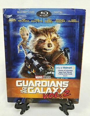 Guardians Of The Galaxy Vol 2 Blu Ray Digital Hd Cards New Sealed Slipcase